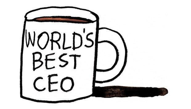 World's Best CEO mug