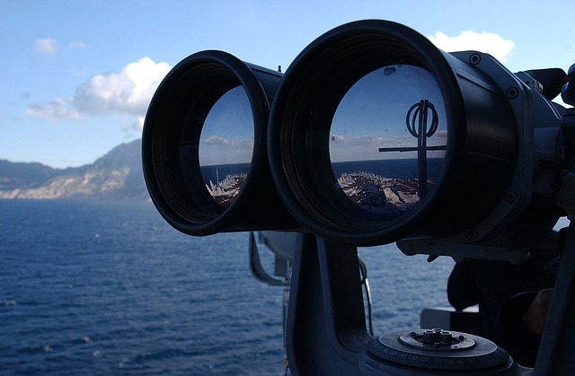 binoculars representing transparency in franchising practices