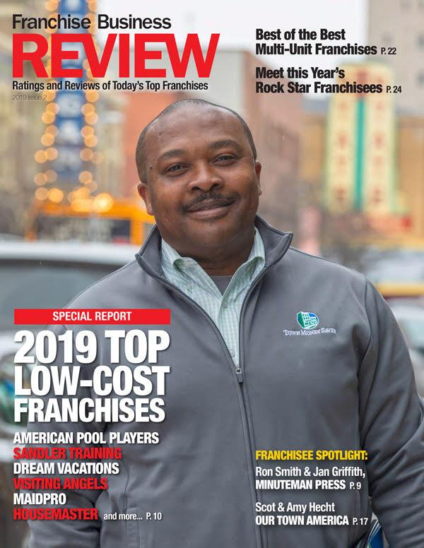 Top Low-Cost Franchises 2019