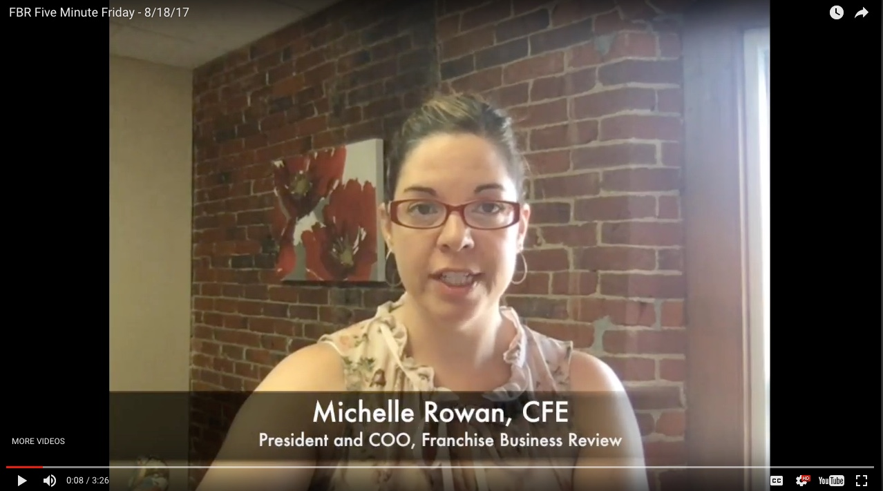 Michelle Rowan, Franchise Business Review