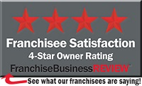 Franchise Satisfaction 4-Star Owner Rating award logo