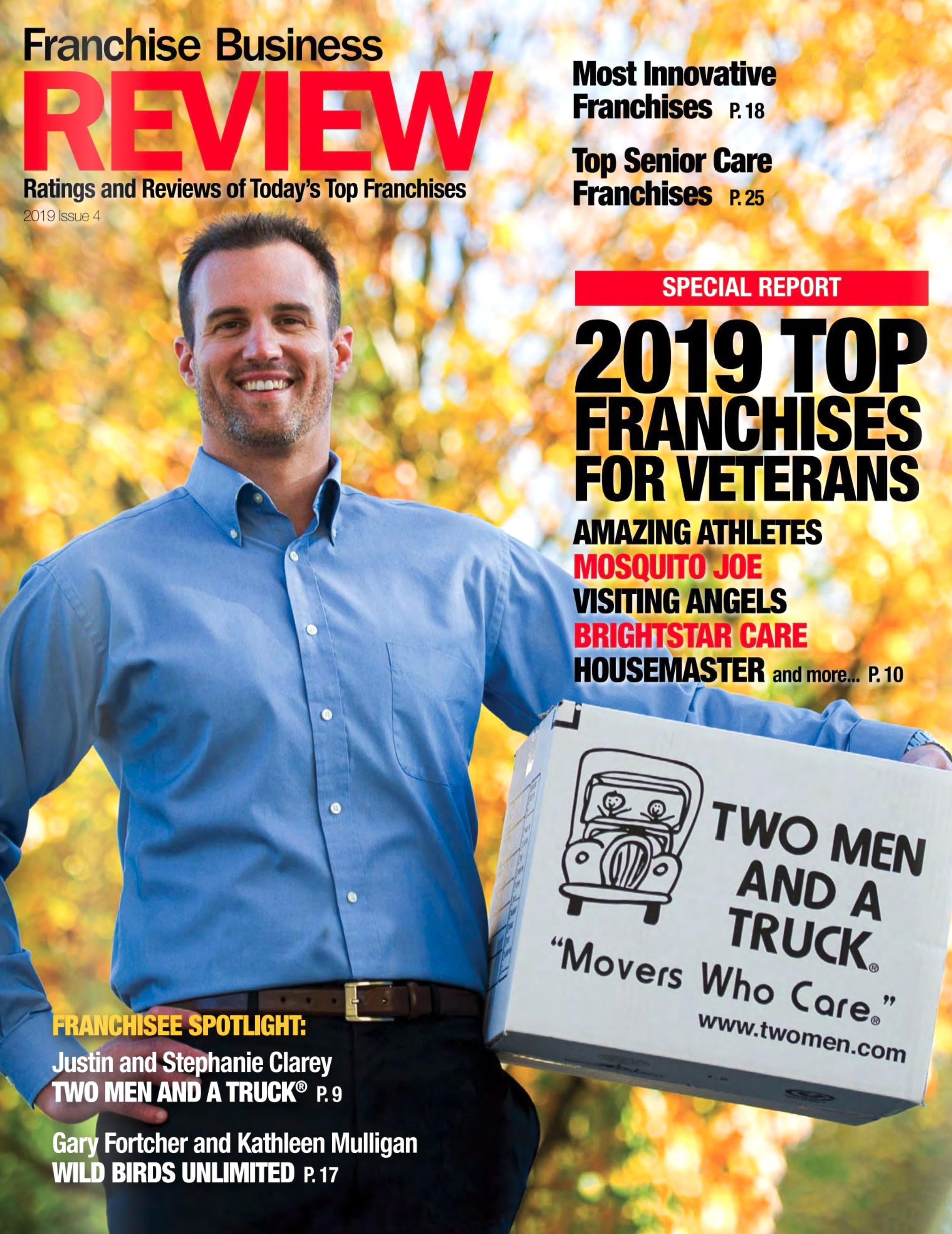 Top Franchises for Veterans Publication Cover