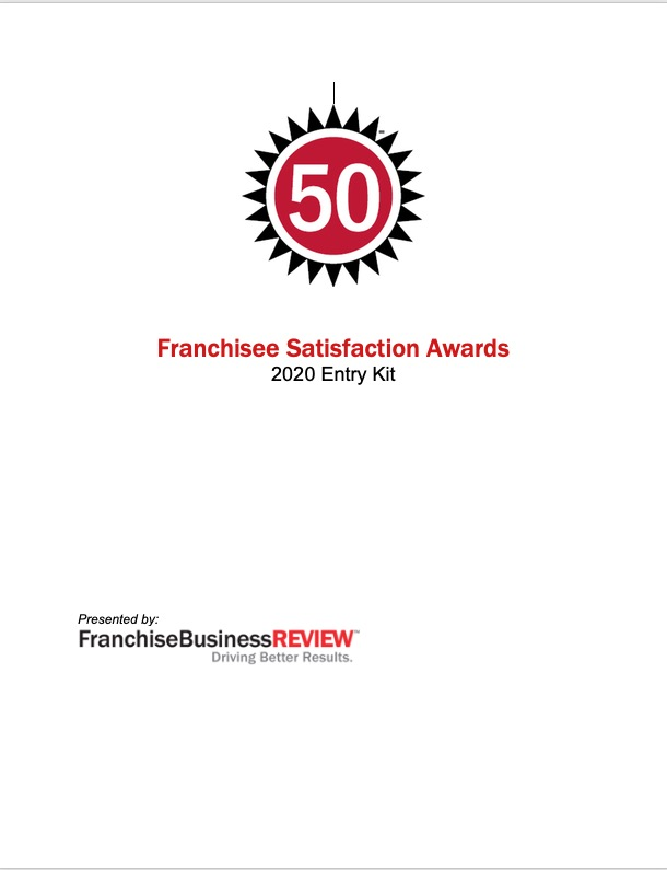 Franchisee Satisfaction Awards Entry Kit