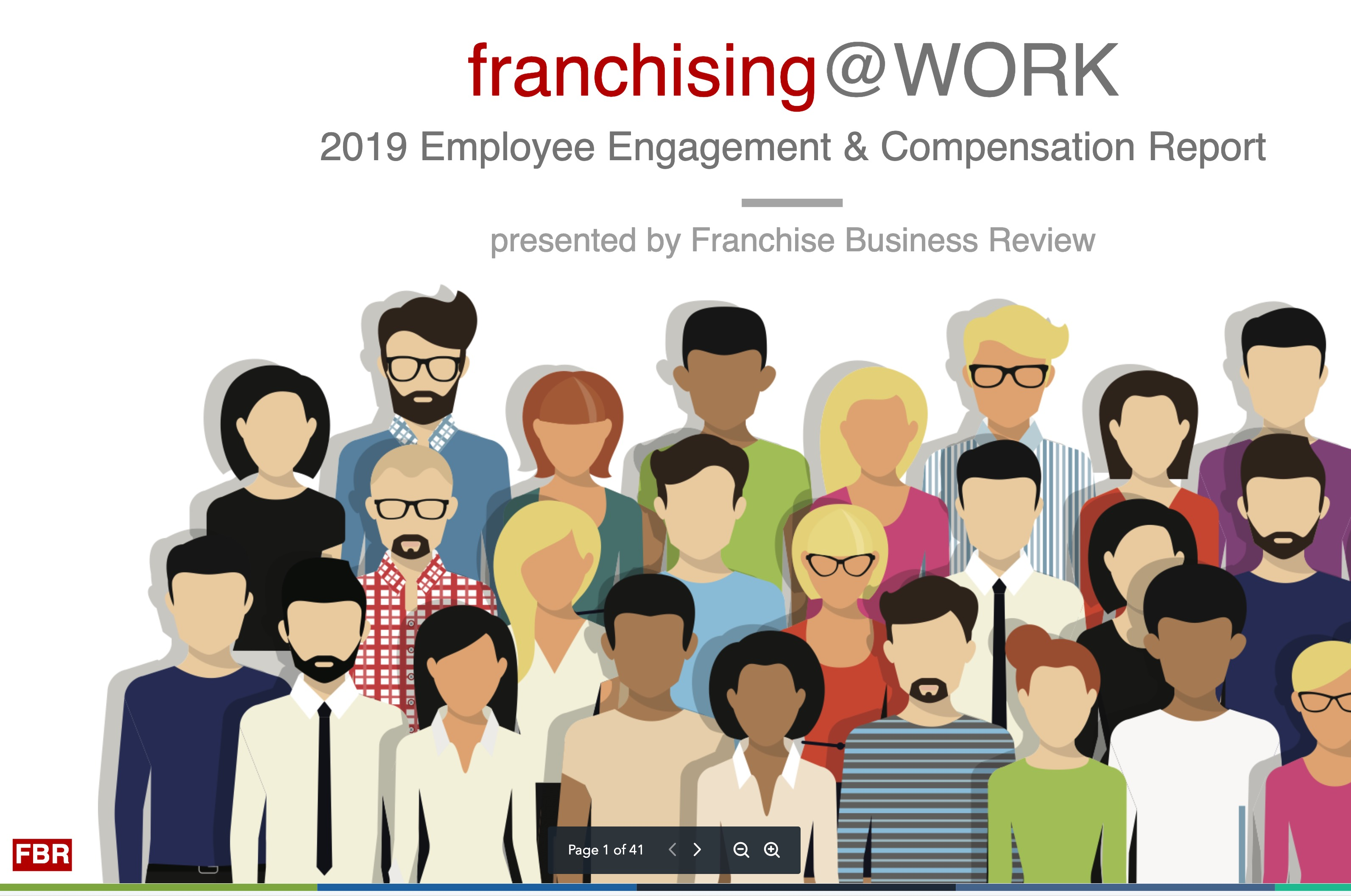 2019 Franchising@WORK Report