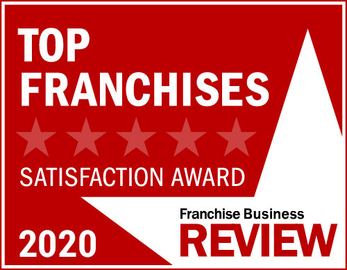 2020 Franchisee Satisfaction Award Graphic