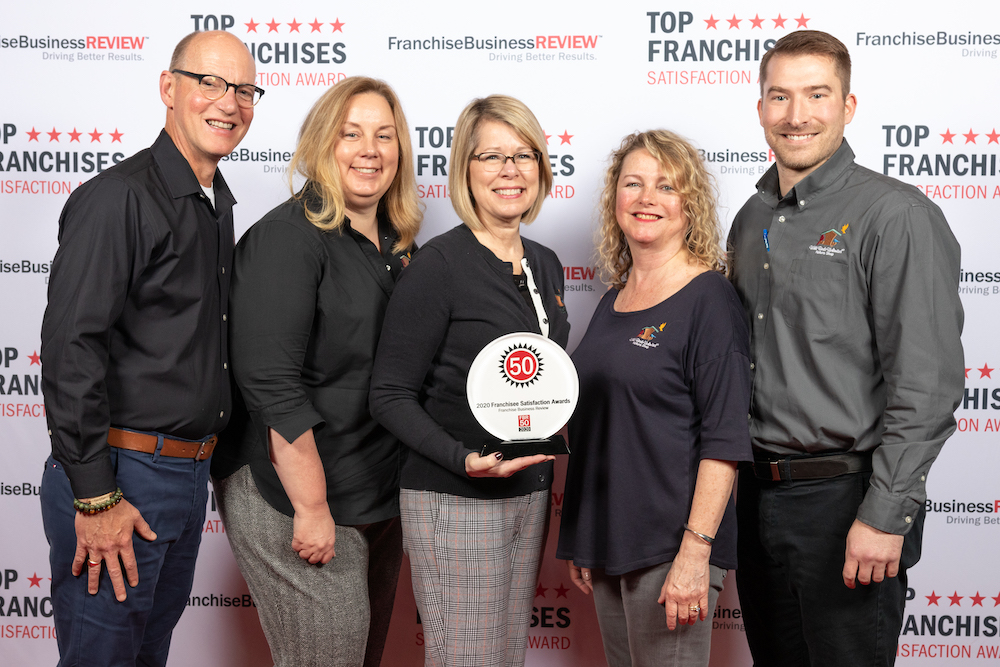 Wild Bird Unlimited franchisee satisfaction award winners