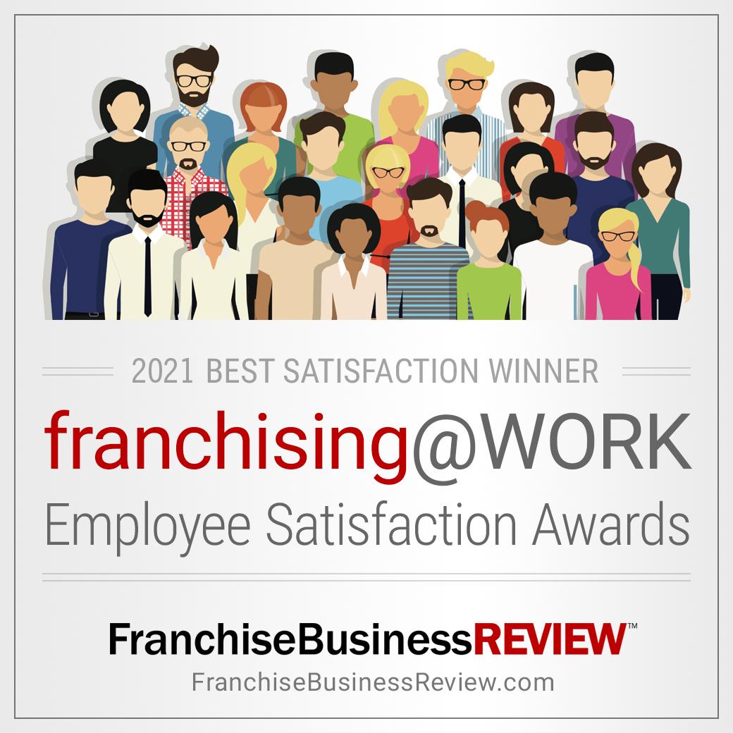 Franchising@WORK Award Graphic 2021