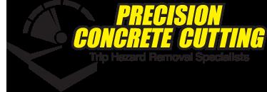 precision concrete logo