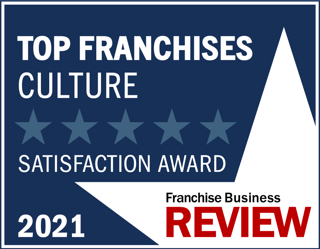 Culture Franchise Satisfaction Award Graphic 2021 -blue