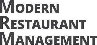 Modern Restaurant Management Logo
