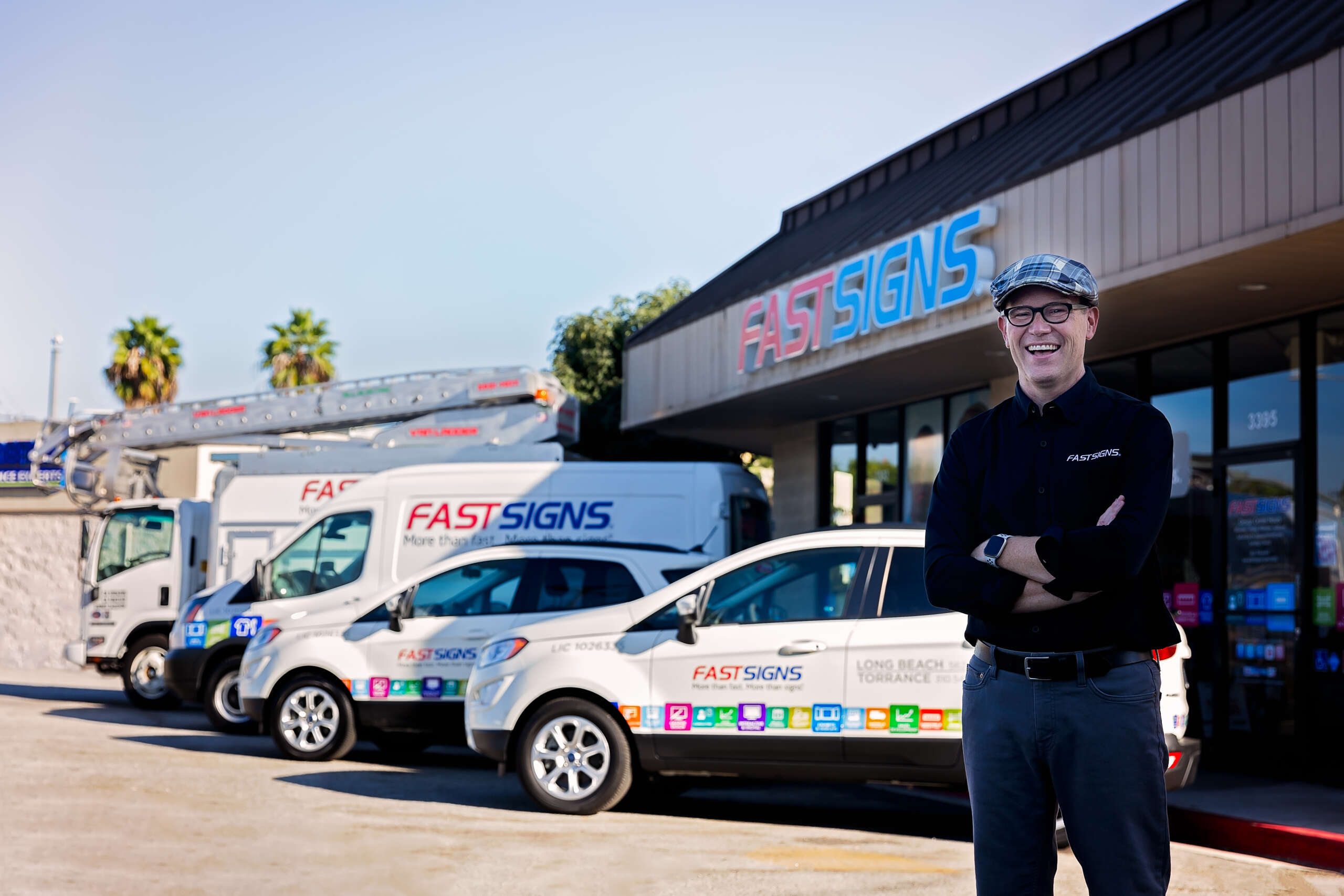 FastSigns franchise owner Stan Gray